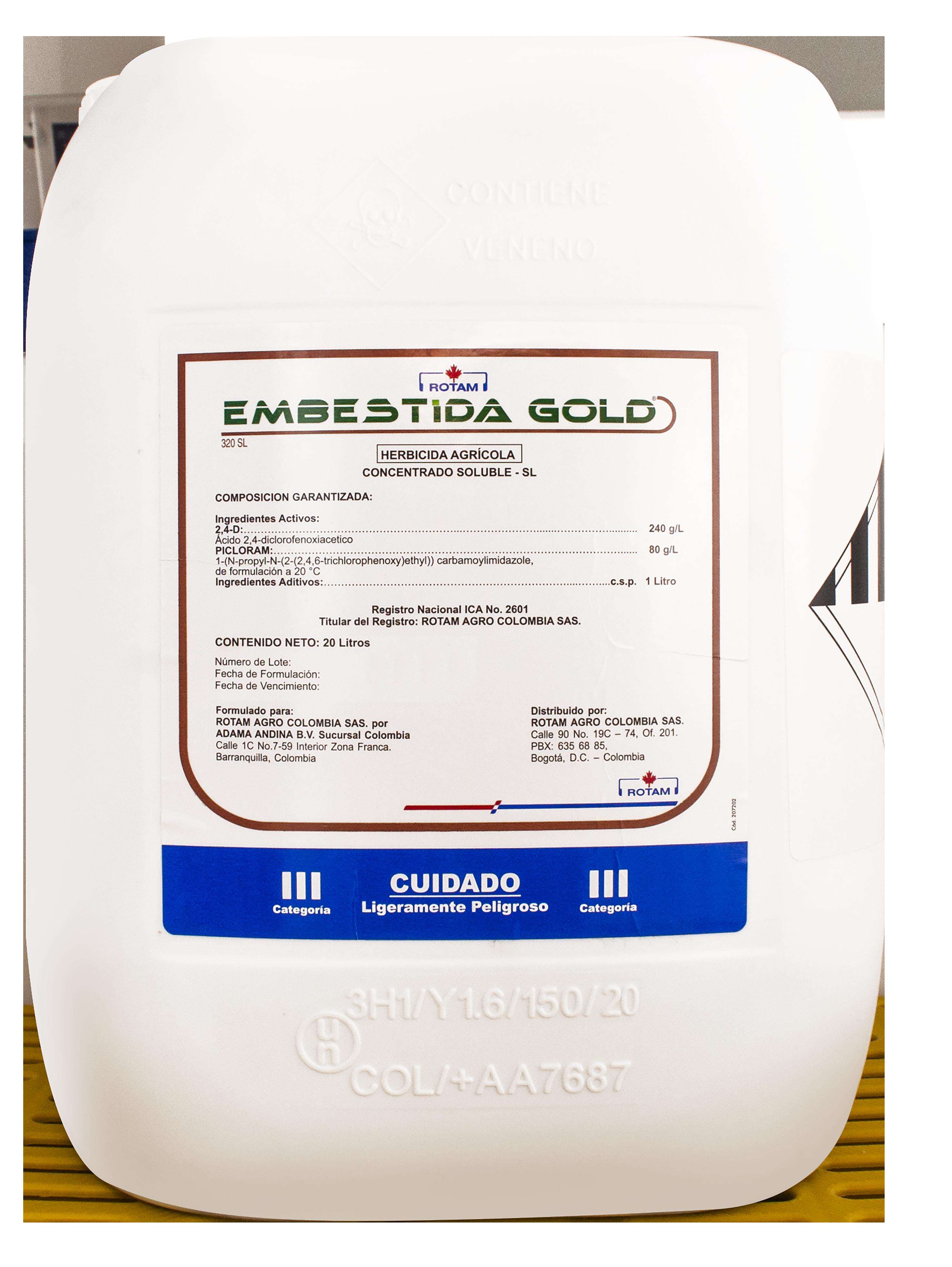EMBESTIDA GOLD 20L